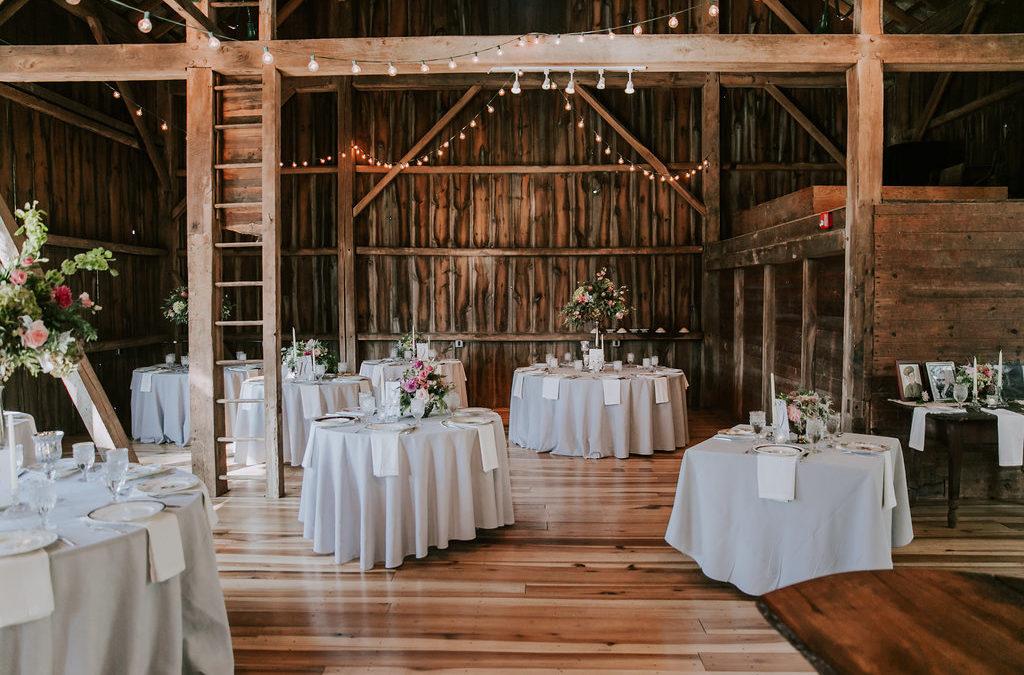 Cleveland Wedding Venue Spotlight: Barn at Wolf Creek
