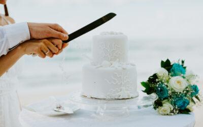 Bucking Tradition: Wedding Cake